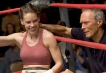 hilary swank et clint eastwood dans million dollar baby