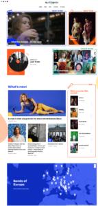 page d'accueil d'europavox
