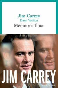 couverture livre memoires flous de jim carrey