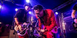 Le groupe Western Machine sur scène
