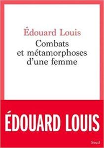 livre combats et métamorphoses d'une femme