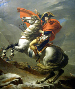 bonaparte franchissant le grand saint-bernard